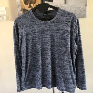 Boss Long Sleeved T-Shirt, Blue, XXL